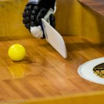 immagine showdown focus su pallina, porta e paletta